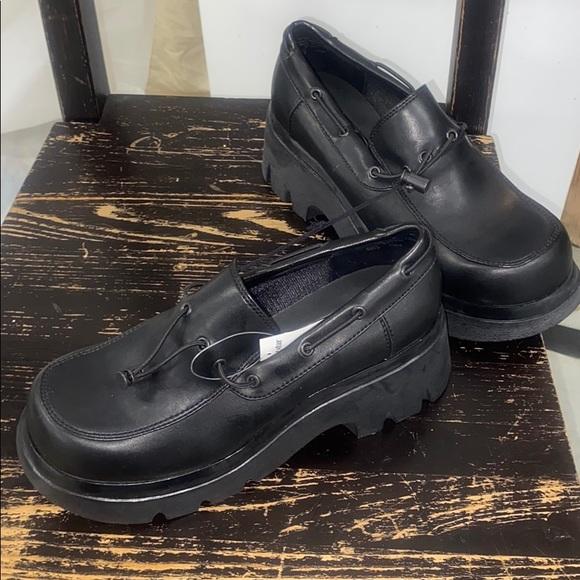 Soho Shoes | Black 2 Platform New Size